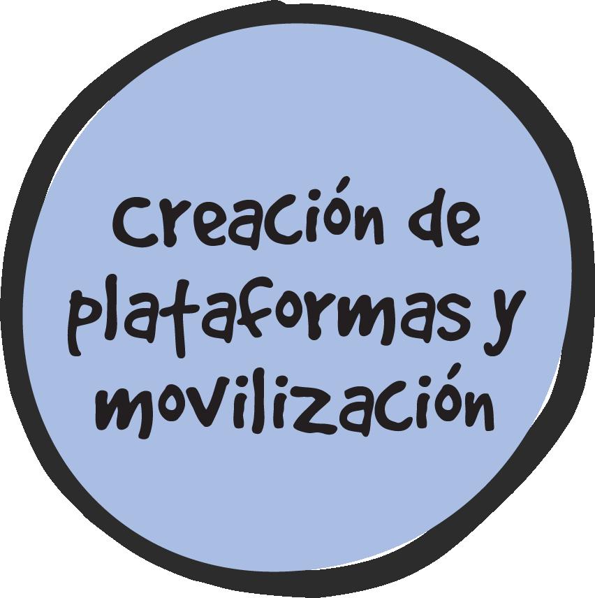 Creación de Plataformas y Movilización